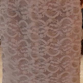 Jupe perlée