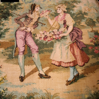 Tapisserie scène romantique